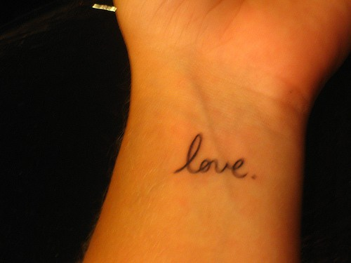 Awesome Love Tattoos Images